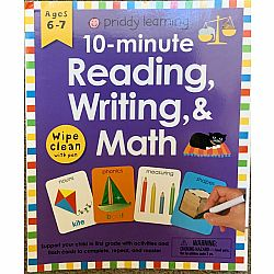 10-minute Reading, Writing, & Math