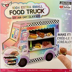 100% Extra Small Food Truck DIY Air-dry Clay Kit