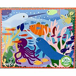 36 Piece Mini Puzzle: Narwhal and Friends